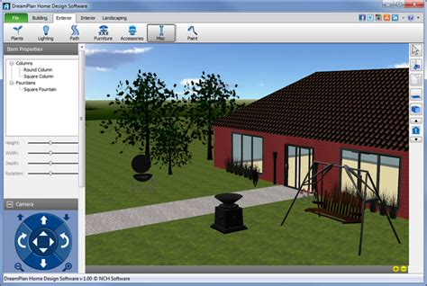free home and landscape design programs dreamplan home design and landscaping software download