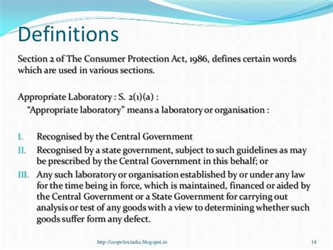 section 13 of consumer protection act consumer protection law