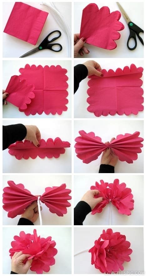 Diy Paper Flowers Craft - diy paper flower pictures photos and images for