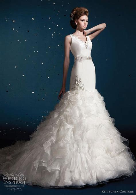 Couture Wedding Dresses by Kittychen Couture Wedding Dresses 2012 Wedding Inspirasi
