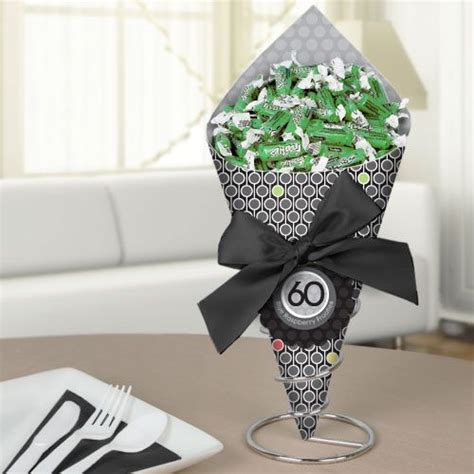 60th anniversary centerpieces 60th birthday bouquet with frooties