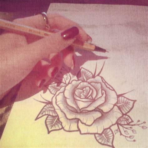 new school tattoo designs tumblr old school rose on tumblr