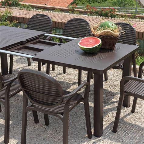 tavoli in plastica da esterno tavoli da giardino allungabili mobili da giardino