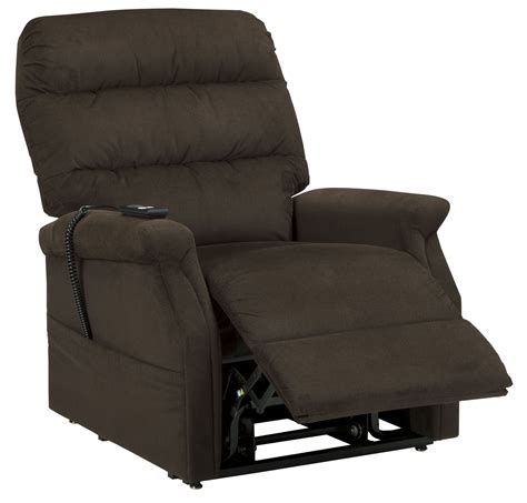 power lift recliners sale brenyth chocolate power lift recliner from ashley 7460212
