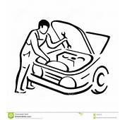 Auto Mechanic Clipart Car Automobile