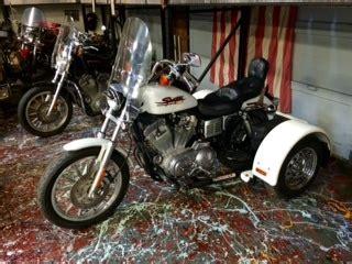 harley davidson sportster 883 trike vehicles for sale