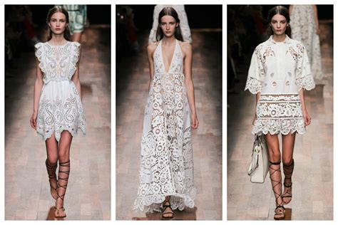 resort 2015 fashion trend black and white lace dior erdem st croix cleaners dry cleaning fashion trends summer