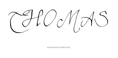 tattoo name thomas thomas name tattoo designs