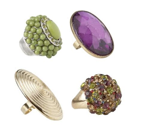 Cheap Cocktail Rings With Intriguing Names by Fabulous Alert August 2010