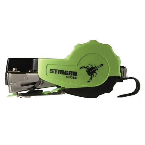 stinger autofeed hammer tacker plastic cap stapler cha