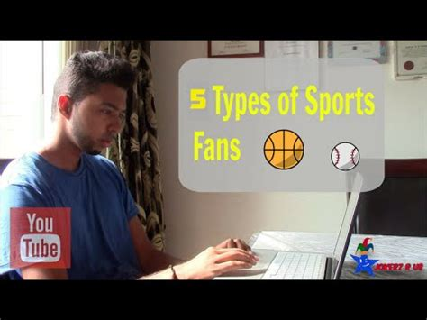 type of sport that fans watch on tv on thanksgiving 5 types of sports fans youtube