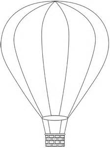 air balloon template air balloon printable template free digital air