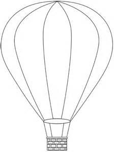 Air Balloon Template Printable by Air Balloon Printable Template Free Digital Air
