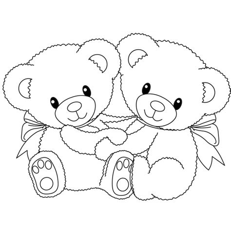 panda bear coloring page for kids printable coloring