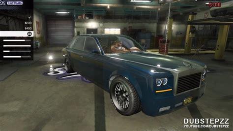 gta v 5 rolls royce phantom customisation gameplay
