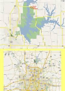 smithville map smithville lake trails