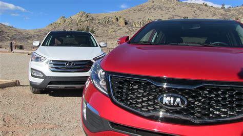 Kia Santa Fe Sport 2016 Kia Sorento Vs Hyundai Santa Fe Sport Mashup Drag