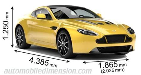 aston martin v12 vantage s 2013 dimensions, boot space and