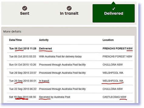 Aus Post Racking by Australia Post Parcel And Letter Delivery System Is Broken