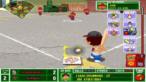 backyard baseball 2003 let s play backyard baseball 2003 game 2 part 1 3 youtube