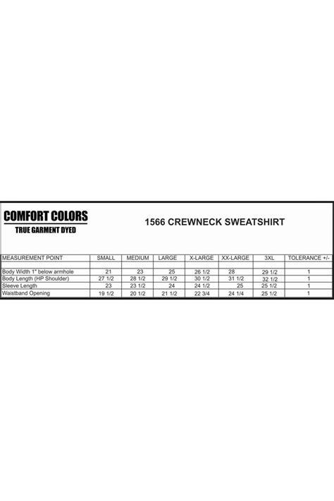comfort colors sweatshirts wholesale comfort colors crew neck sweatshirt 1566 wholesale