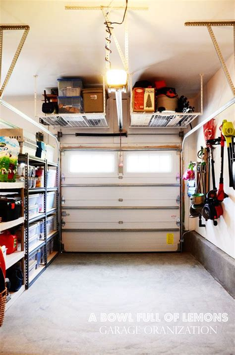 two car garage organization free 2 car garage plans with loft woodworking projects