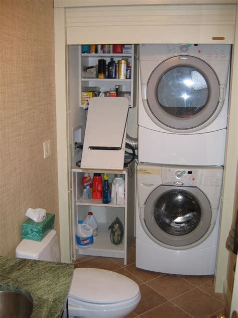 Roll Up Closet Doors Laundry Closet With Roll Up Door For The Home Laundry Closet Laundry And Doors