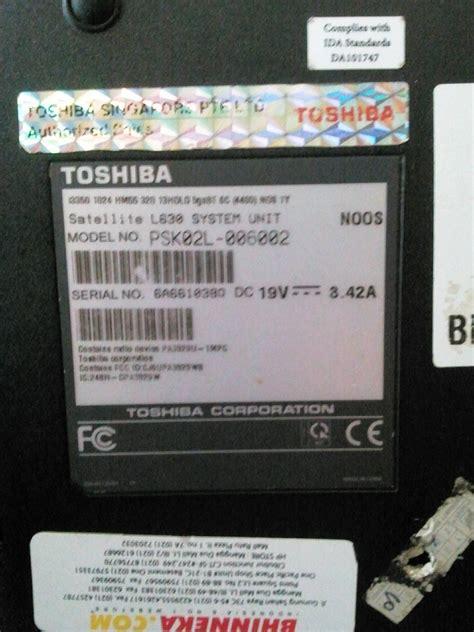 windows xp toshiba satellite l630 broken after bios update user