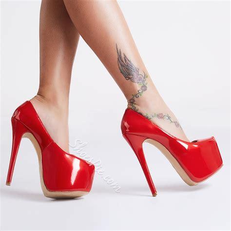 In High Heels by Shoespie Platform Heels Shoespie
