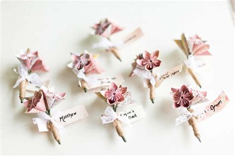 10 awesome ways to use origami in your wedding