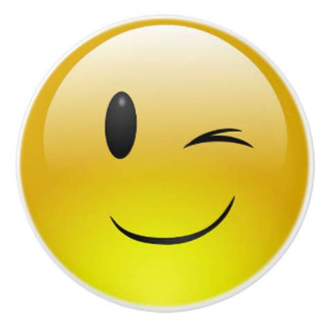 emoji wink emoji winking face gifts on zazzle