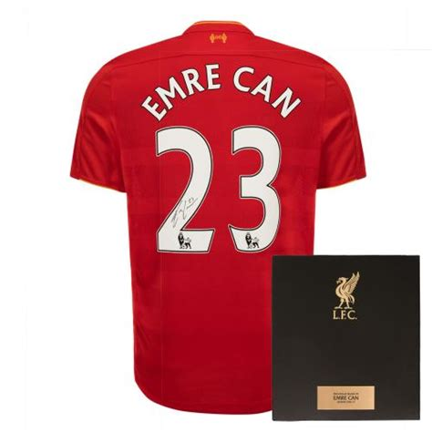 Tshirt Liverpool Edition signed liverpool shirts signed lfc photos and gifts for