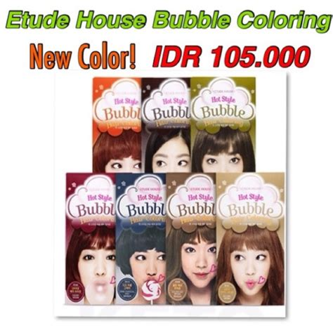 Cat Rambut Etude House promo etude house style hair color coloring