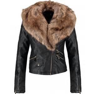 womens denim jacket with fur collar