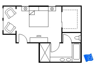 Floor Plan Of A Bedroom master bedroom floor plan bedroom entry 1