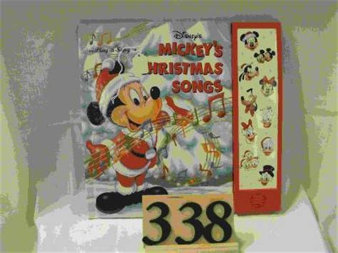 songs with our closed books mickey mouse songs book 507061