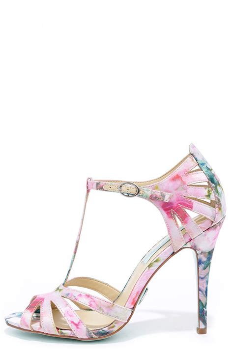 Or Not Ravels Big Flower Shoes by Pretty Dress Sandals Floral Shoes Strappy Heels 69 00