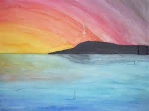 water color sunset watercolor sunset by argentiaertheri on deviantart