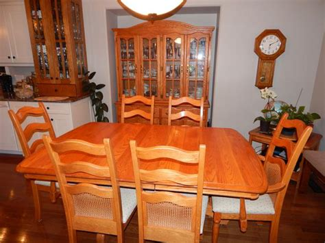 solid oak dining room set genuine solid oak dining room set east