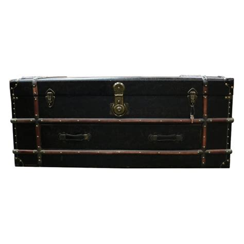 Trunk Coffee Table Black Rafael Trunk Coffee Table Black Country Interiors