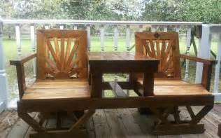 wood patio furniture landscaping gardening ideas