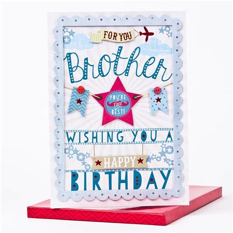 Birthday Cards For Brothers Colors Birthday Cards For Brother