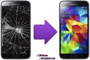 r 233 paration ecran cass 233 pour smartphone samsung galaxy s5