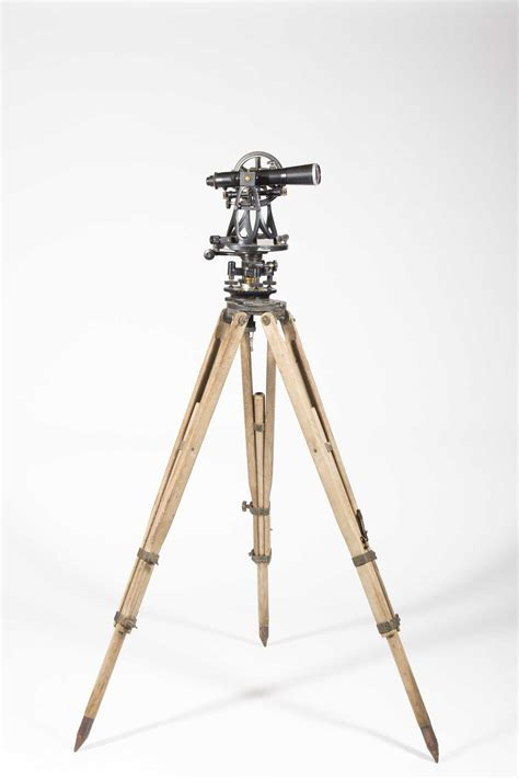 le tripod w le gurley transit tripod and elevation stick