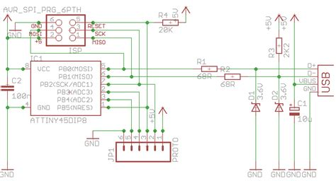 pull up resistor to 5v zero characters left usb prototyping board part 1 design and schematic