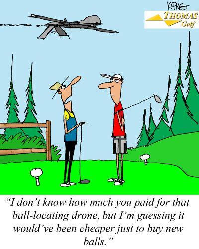 funniest hot weather jokes ball locating drone golf joke