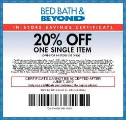 Bed Bath Beyond Printable Coupon Coupon Feed Printable Coupons Bed Bath Amp Beyond