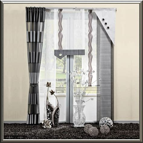 gardinen set beautiful deko fenster wohnzimmer images house design