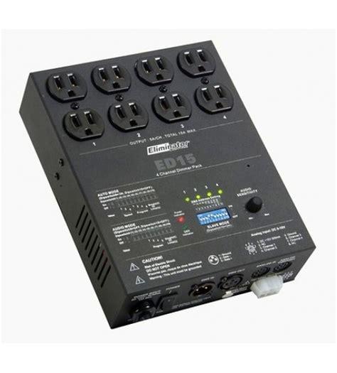 Li Karaoke Soundbest Rc 218 dmx 4 channel dimmer