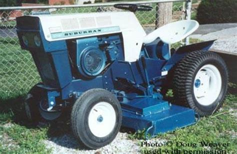Vintage Sears Garden Tractors by 1966 Sears Suburban Garden Tractor Motorcycle Review And